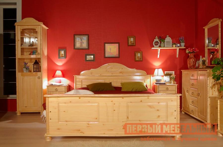 Кровать двуспальная из массива сосны Timberica Айно