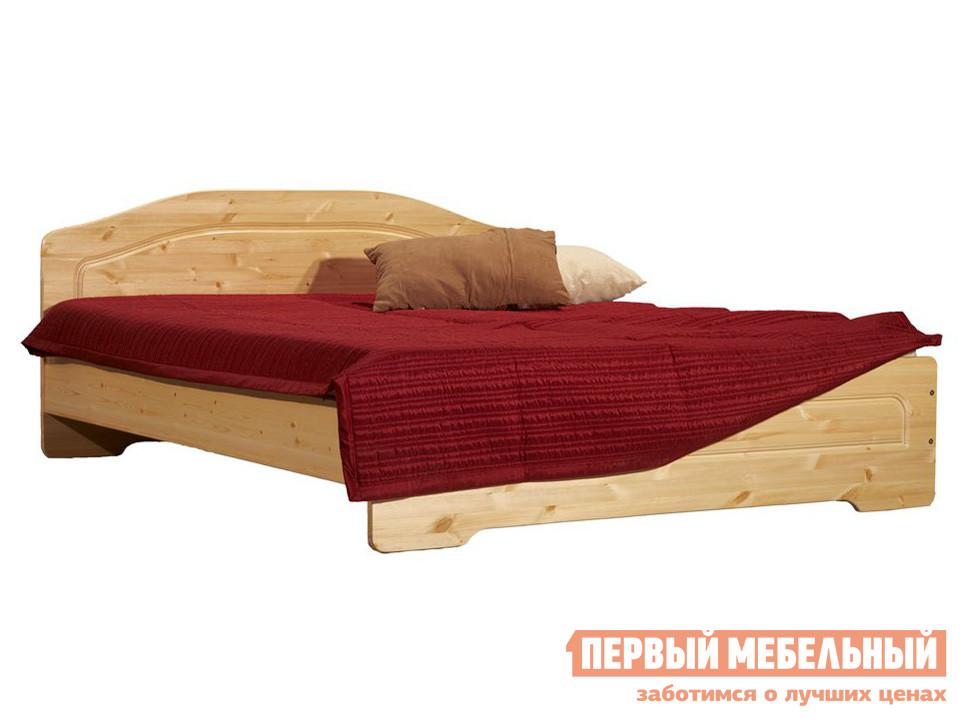 Двуспальная кровать из сосны Timberica Эрика кровать полуторка timberica эрика