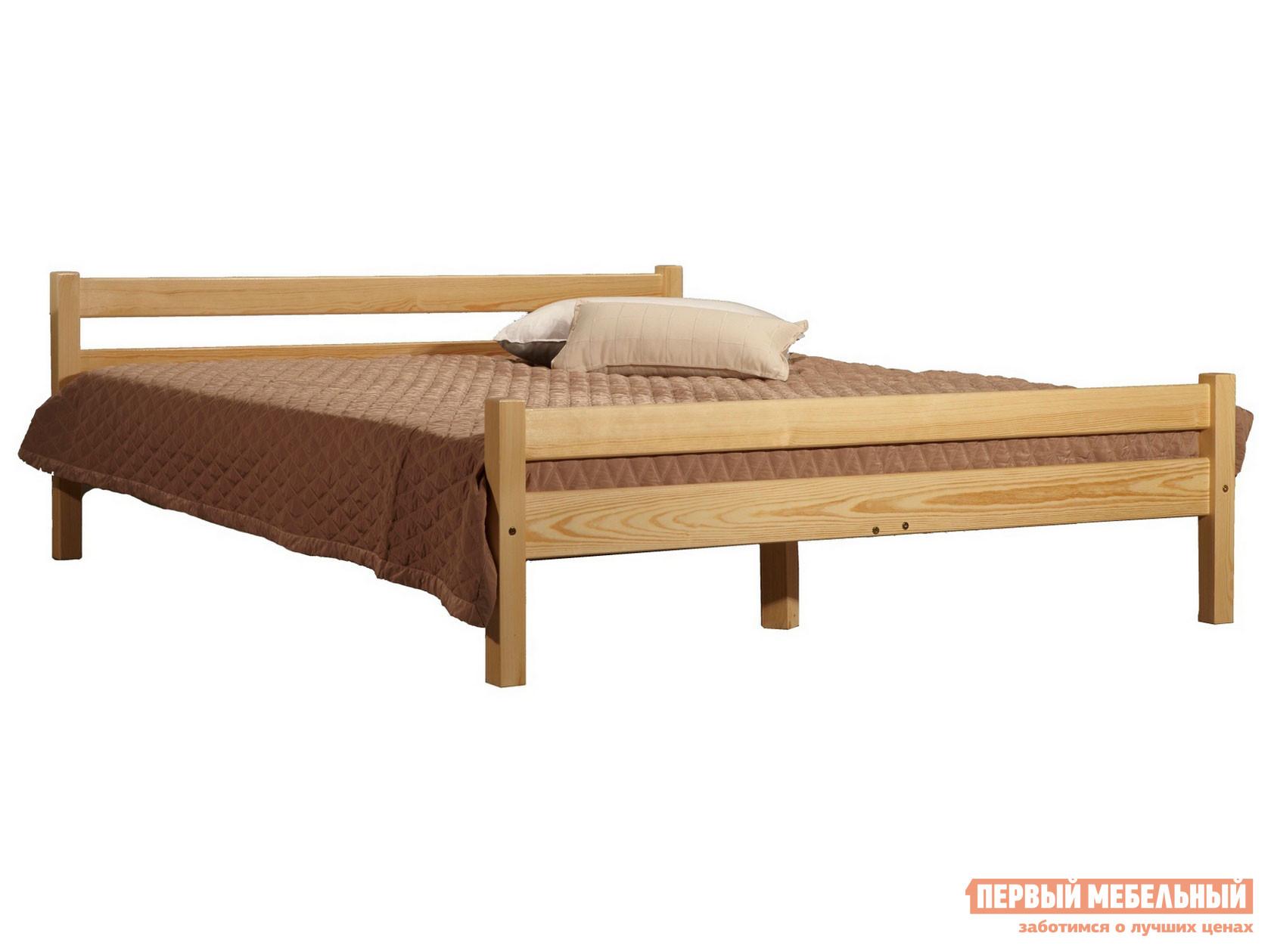Двуспальная кровать из дерева Timberica Кровать Классик