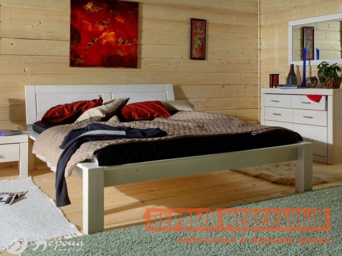 купить Кровать деревянная двуспальная Timberica Брамминг-2 по цене 18080 рублей