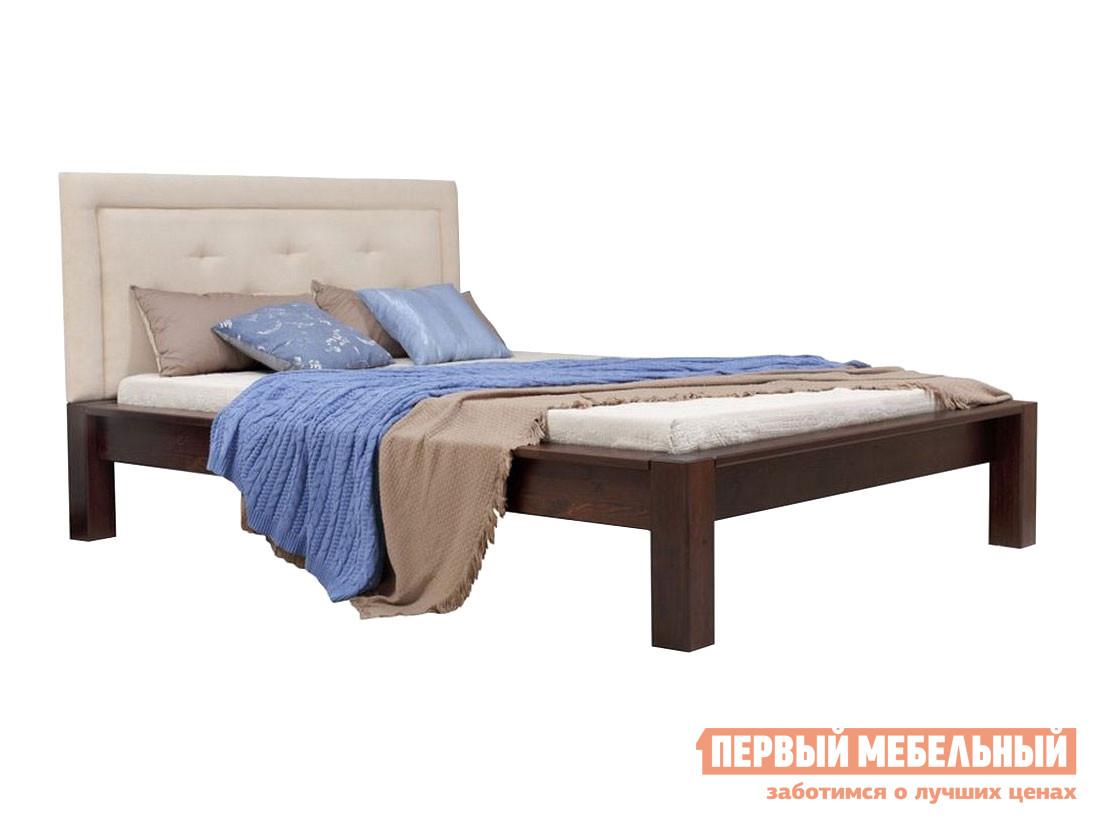 Двуспальная кровать Timberica Кровать Брамминг 2 мягкая