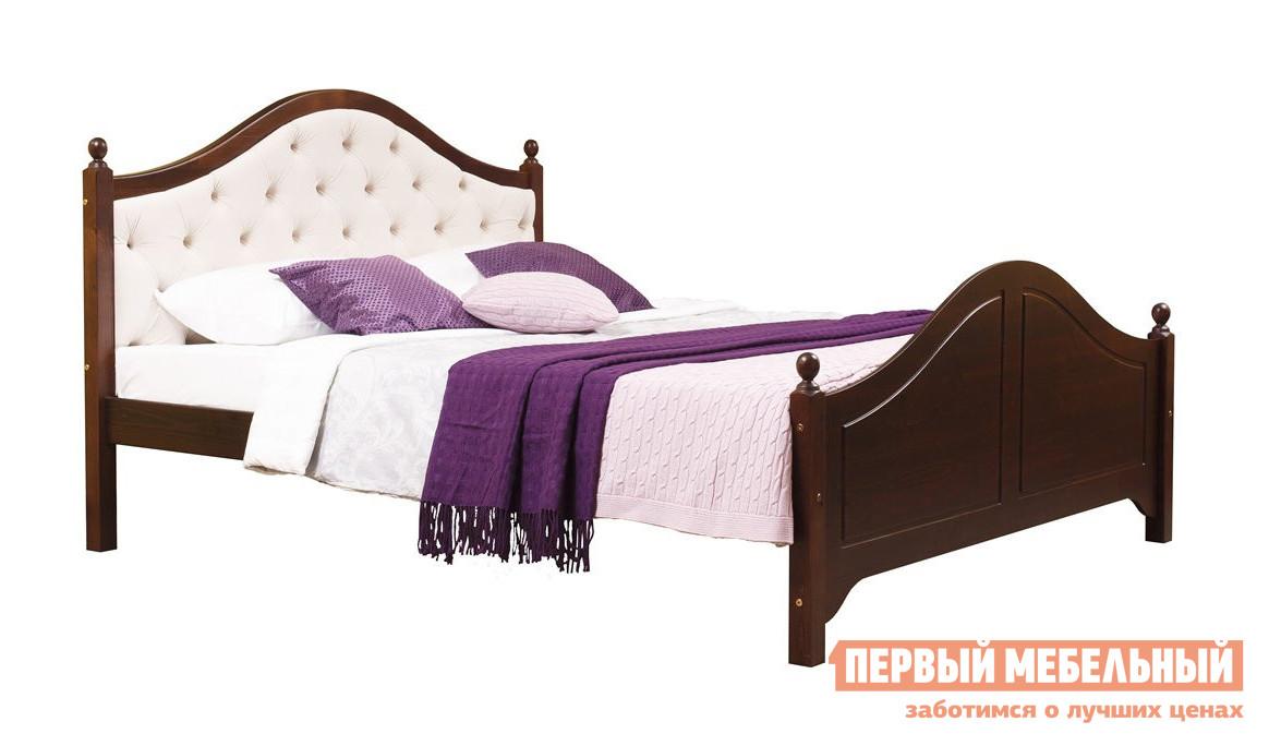 Двуспальная кровать Timberica Кая (К2) мягкая комплект мебели для спальни timberica кая к2