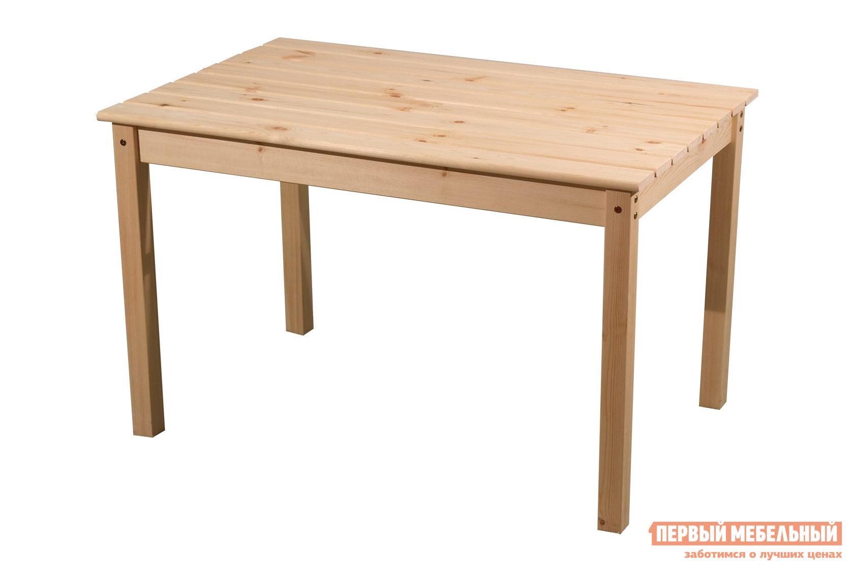 Обеденный стол из массива сосны Timberica Стол дачный №2