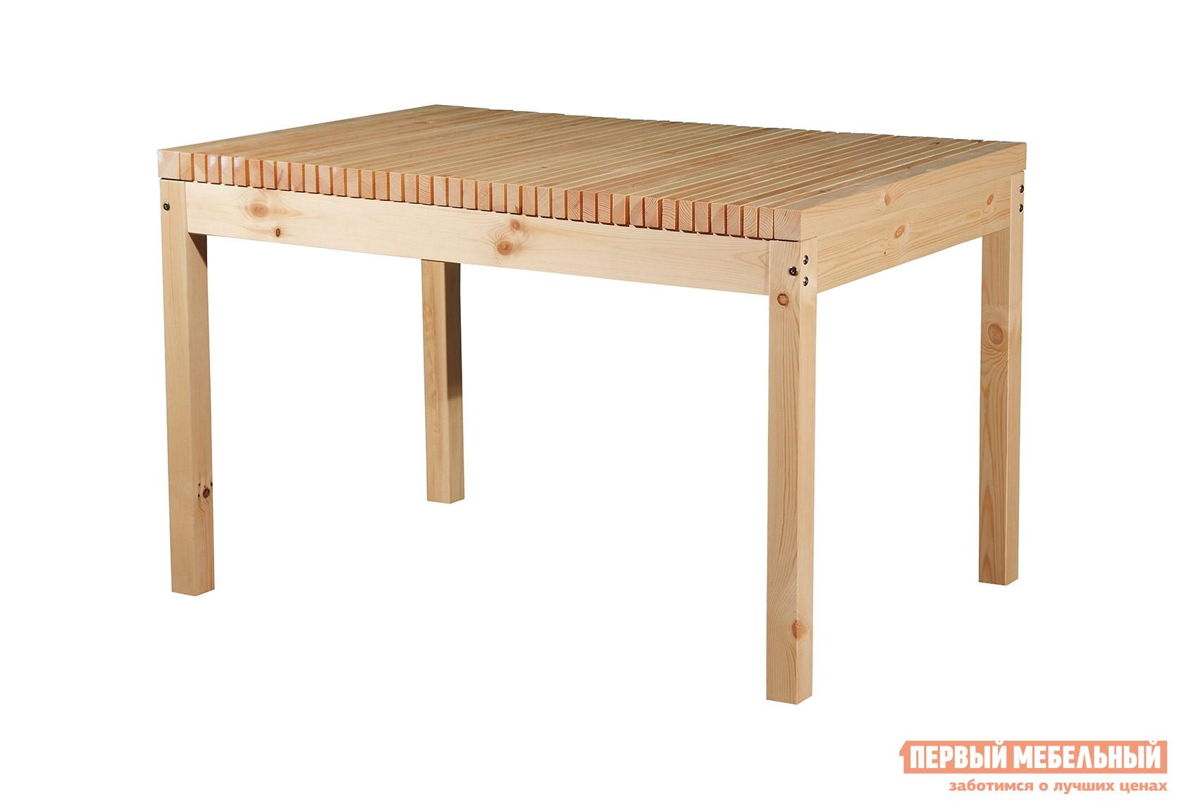 Обеденный стол из сосны для дачи Timberica Стол Лахти