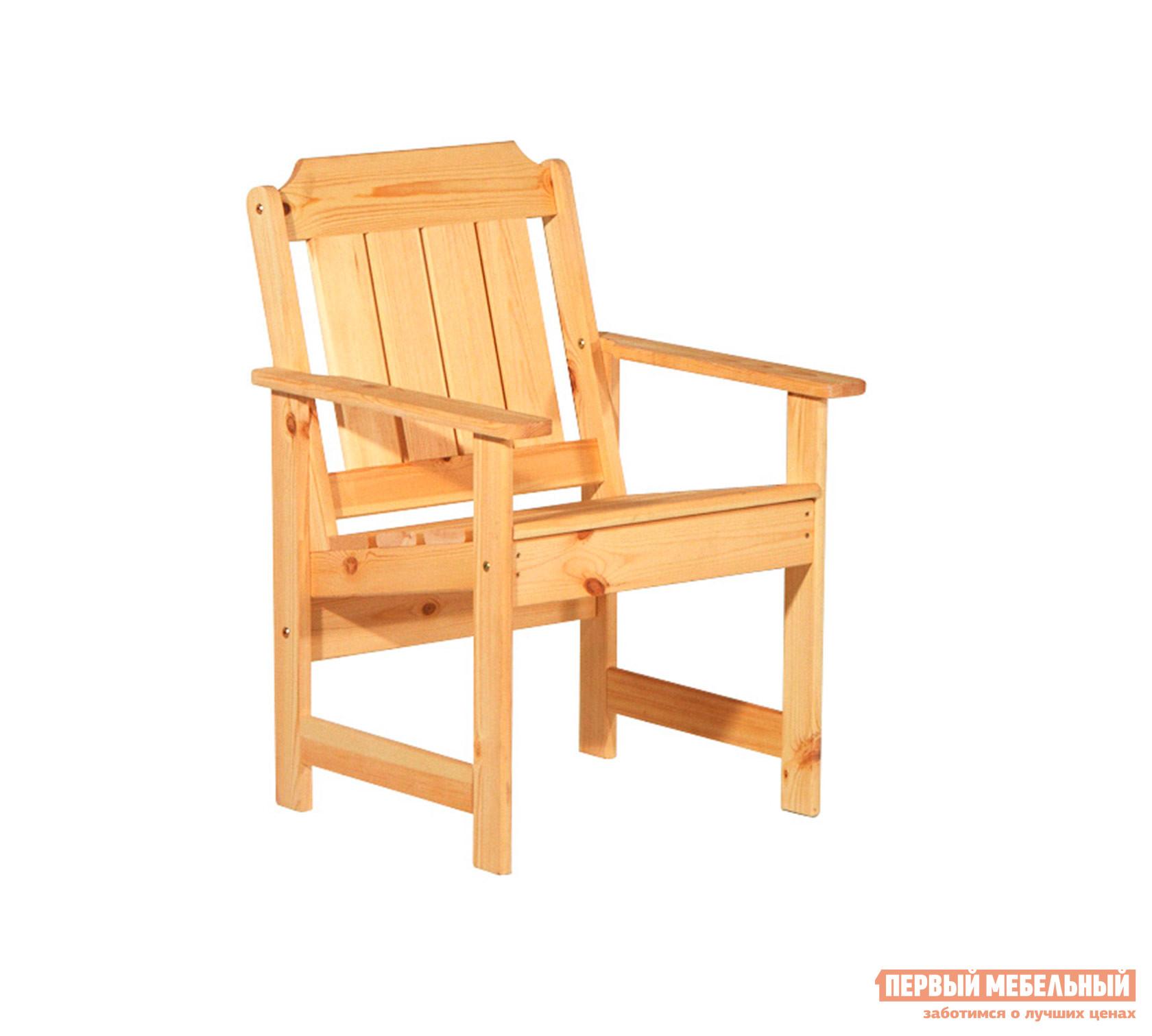 Дачное кресло Timberica Кресло Ярви Бесцветный лак от Купистол