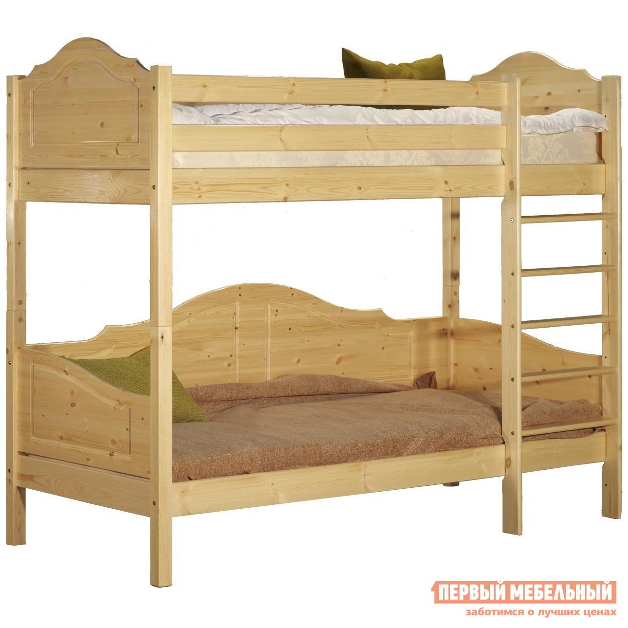 Двухъярусная кровать Timberica Кровать 2-ярусная Кая (K3) кровать полуторка timberica эрика