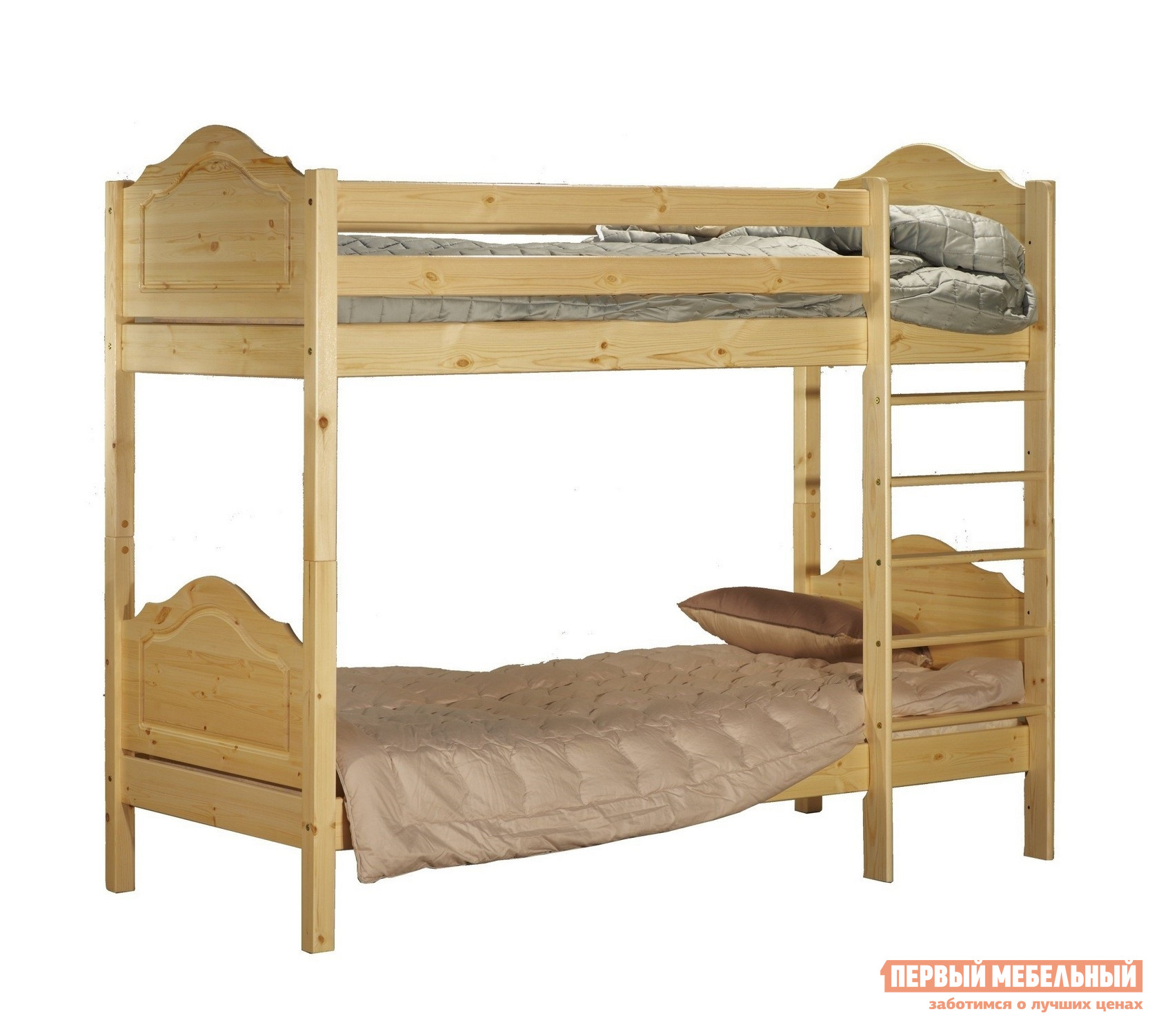 Двухъярусная кровать Timberica Кровать 2-ярусная Кая (K2) двухъярусная кровать для детей впк кровать 2 х ярусная polini kids simple 5000