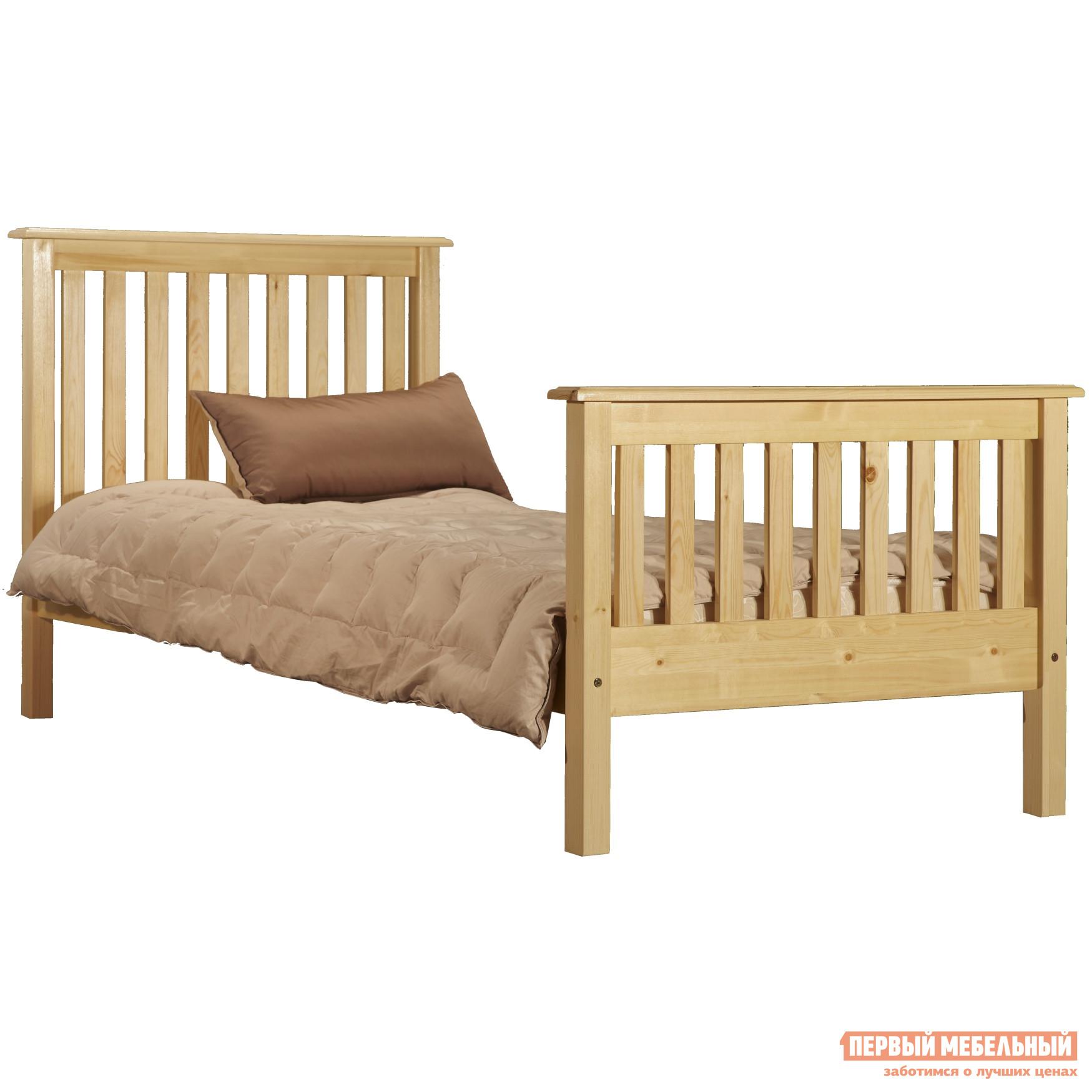 купить Кровать деревянная полуторная Timberica Рина (R2) по цене 11180 рублей