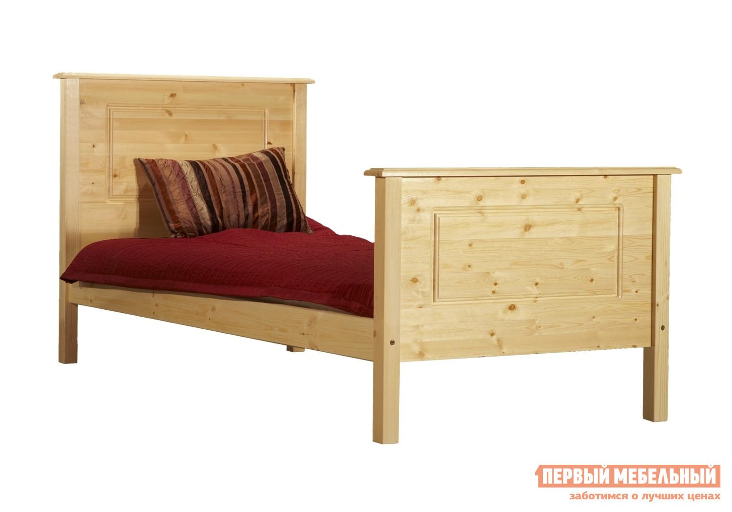 купить Деревянная полуторная кровать Timberica Тора-2 по цене 10560 рублей