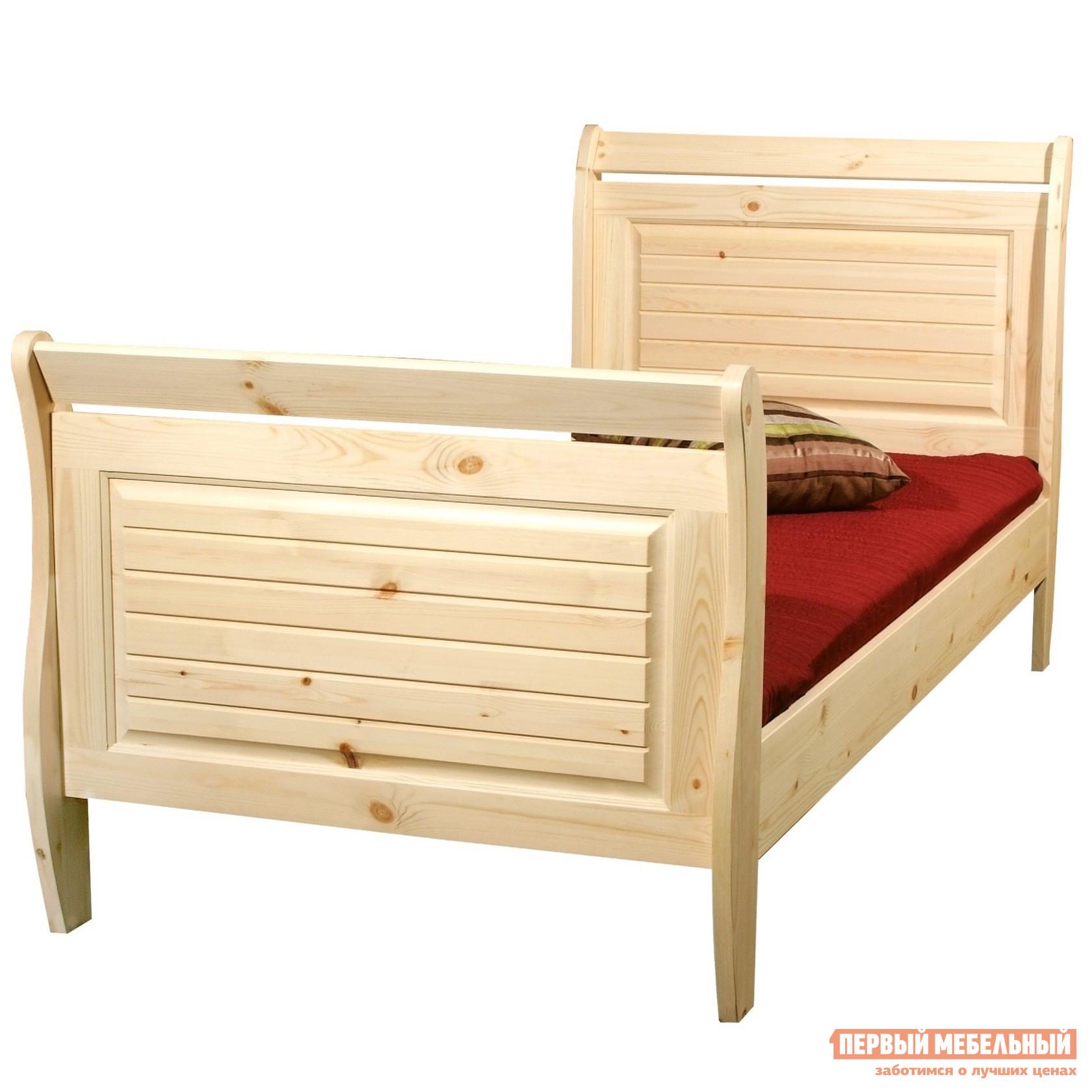 купить Деревянная кровать двуспальная Timberica Дания по цене 16140 рублей