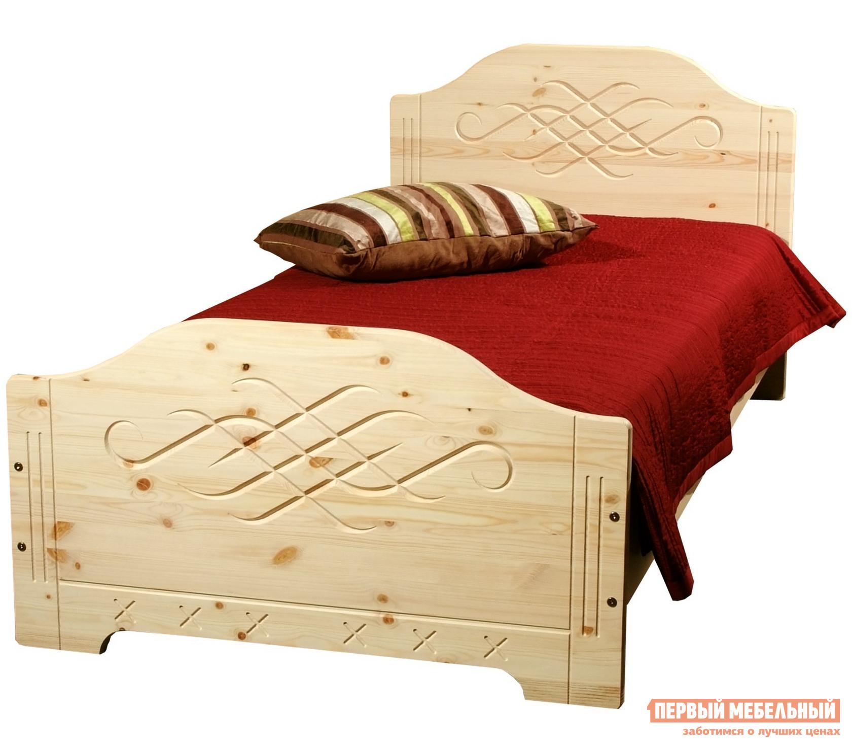 Кровать односпальная Timberica Аури кровать односпальная homeme нова