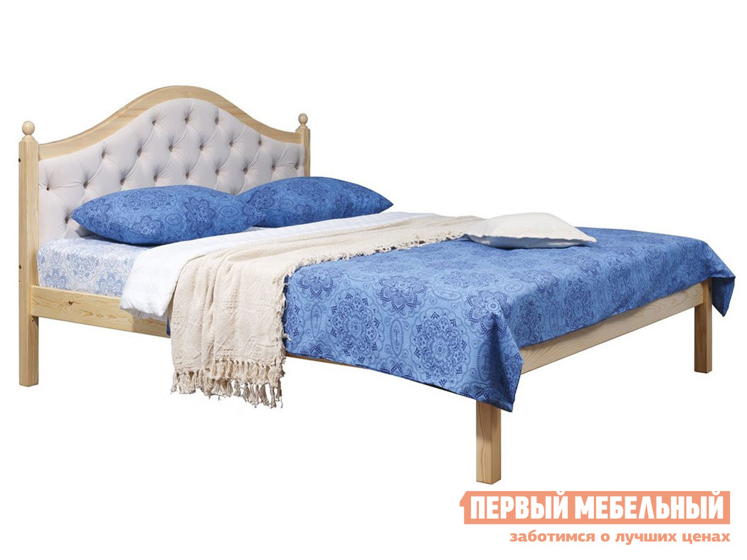 Односпальная кровать Timberica Кая (К1) мягкая комплект мебели для спальни timberica кая к2