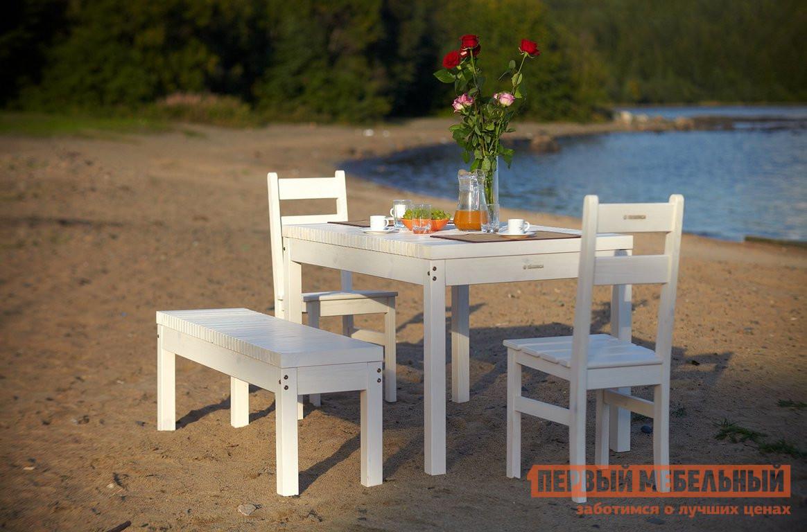 Комплект садовой мебели Timberica Лахти + 2 стула Дачный + скамья Лахти комплект садовой мебели xrb 035 а d с d80x80