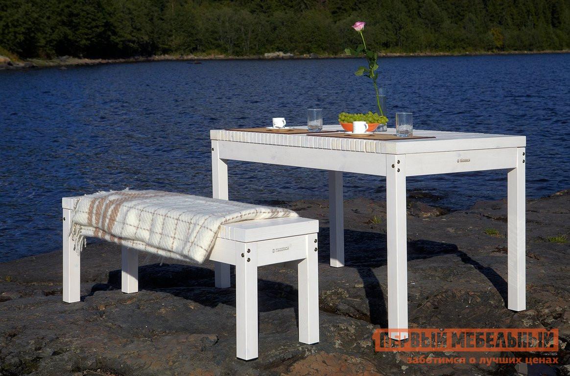 Комплект садовой мебели Timberica Стол Лахти + скамья Лахти комплект детской мебели timberica классик эмаль белая к1