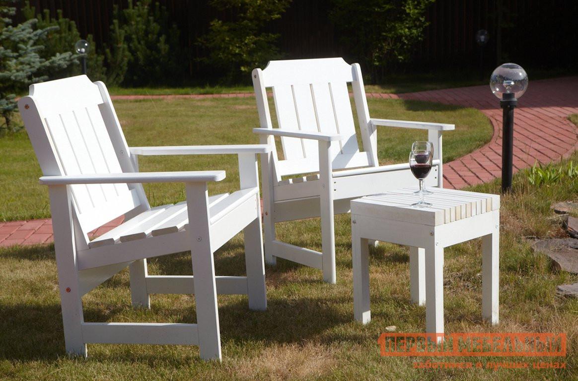 Комплект садовой мебели Timberica 2 Кресла Ярви + табурет Лахти комплект детской мебели timberica классик эмаль белая к1