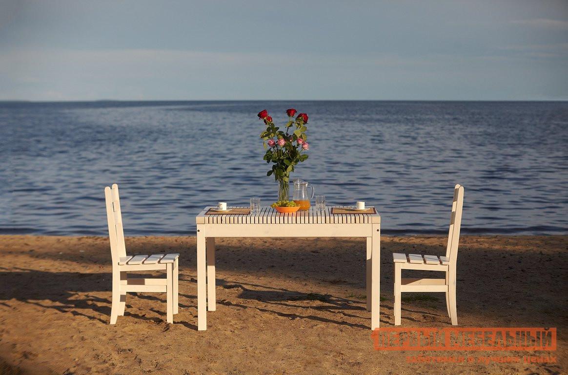 Комплект садовой мебели Timberica Стол Лахти + 2 стула дачного комплект детской мебели timberica классик эмаль белая к1