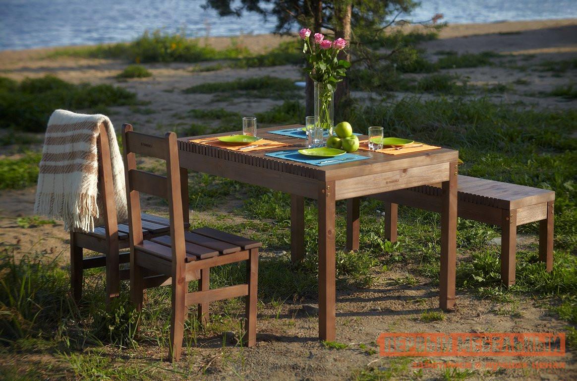 Комплект садовой мебели Timberica Лахти + 2 стула Дачный + скамья Лахти комплект детской мебели timberica классик эмаль белая к1