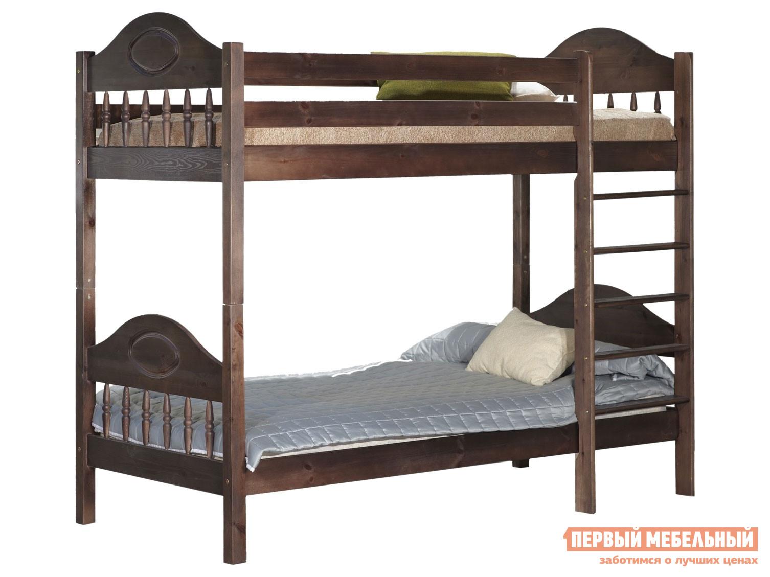 Двухъярусная кровать Timberica Кровать 2-ярусная Фрея (F2)