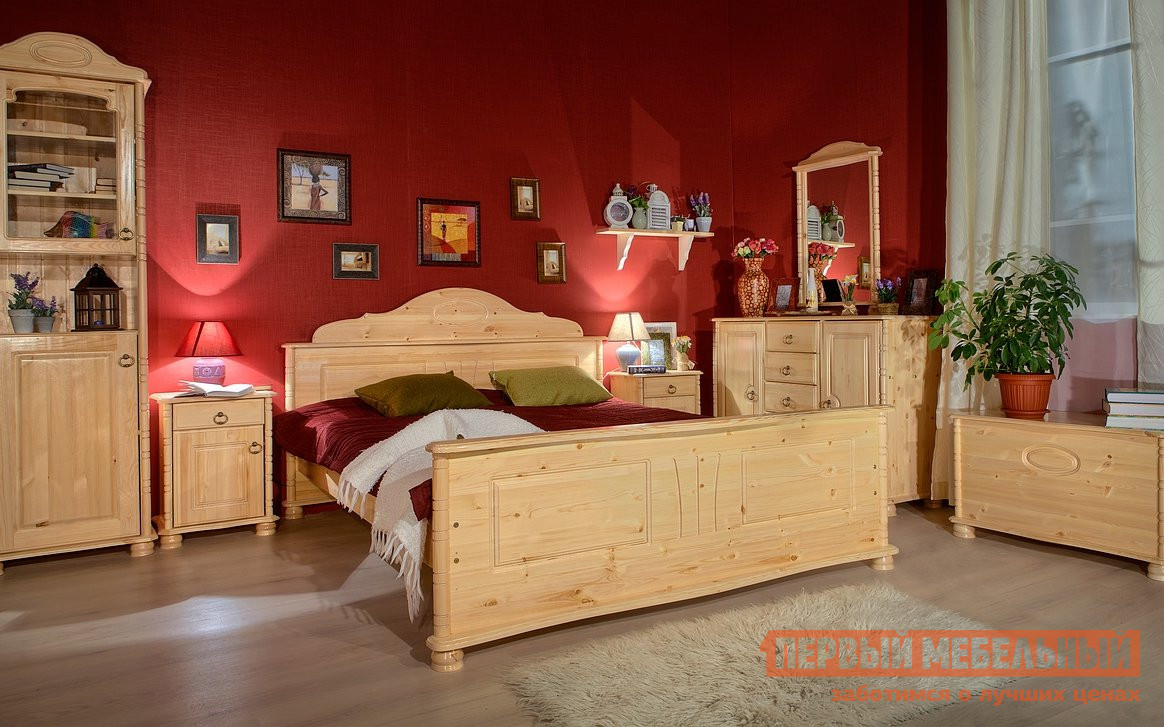 Комплект мебели для спальни Timberica Айно К2