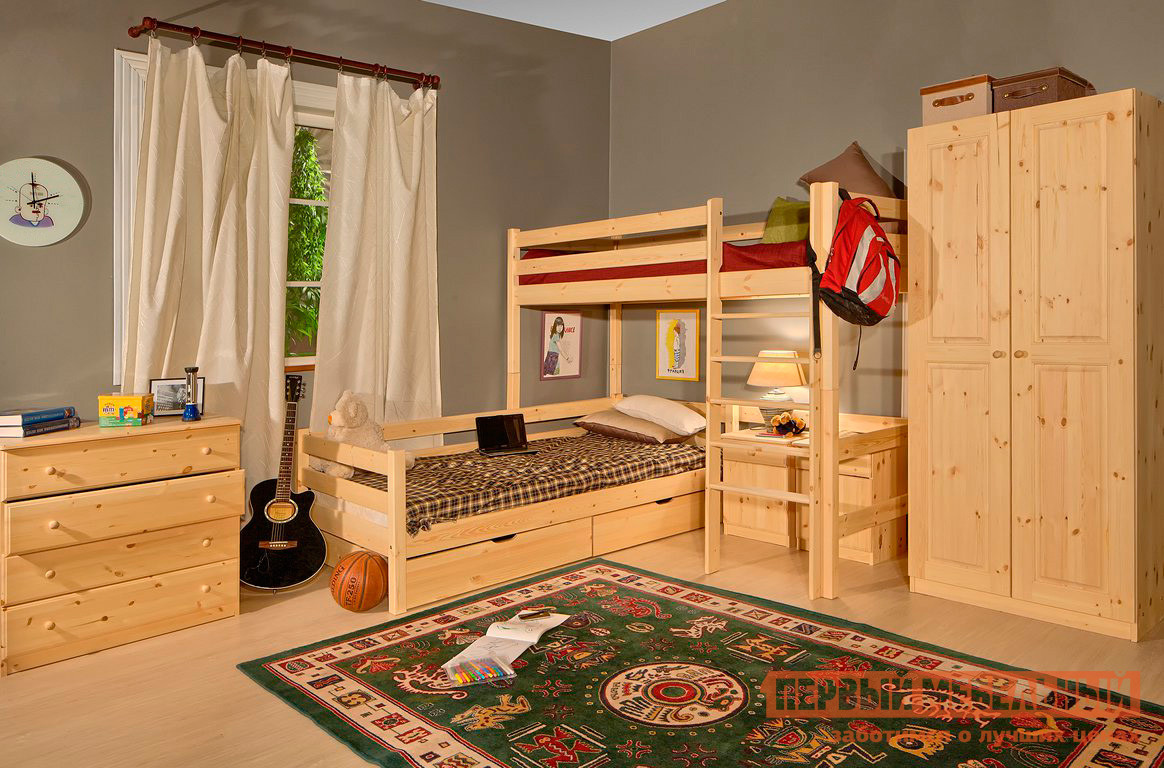 Комплект детской мебели Timberica Классик К1 комплект детской мебели мебельсон амели м к1