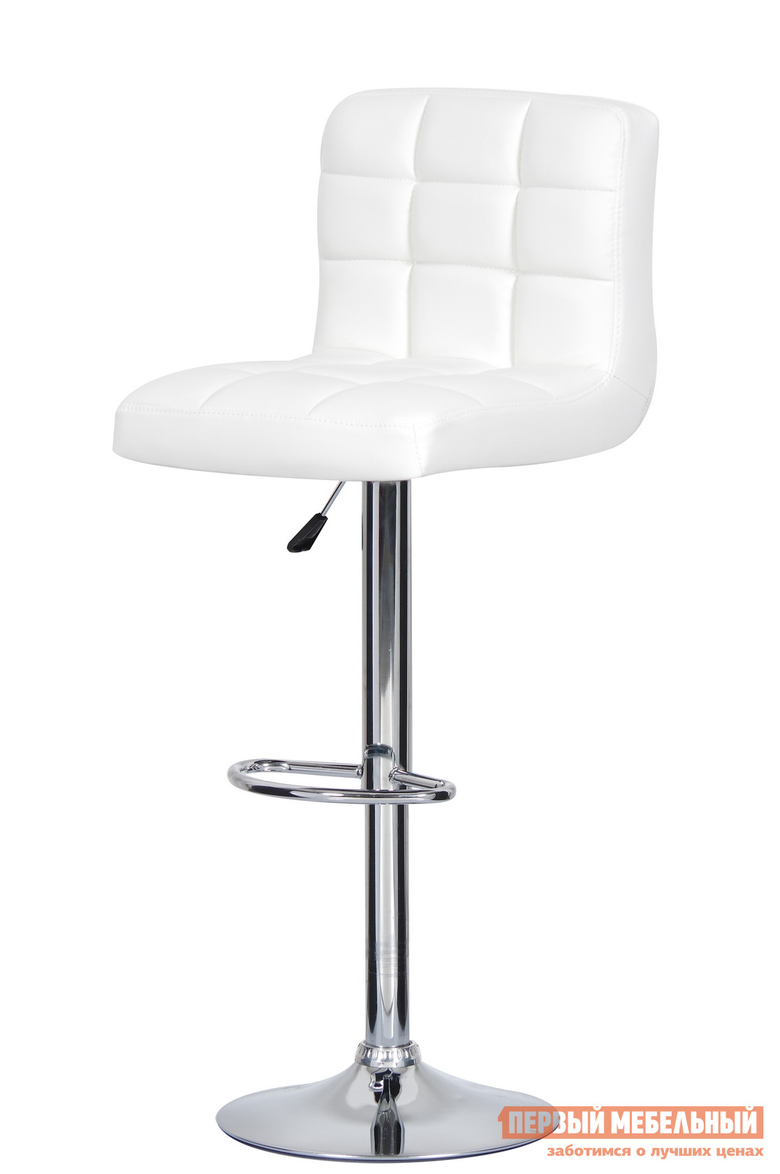 Барный стул Паоли Kruger Original T-808H White кожзам