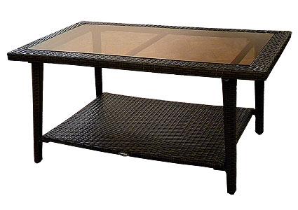 Стол из ротанга GARDA-1146 стол журнальный со стеклом/тониров КупиСтол.Ru 9030.000