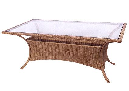 Стол из ротанга GARDA-1012 стол со стеклом/тониров КупиСтол.Ru 22724.000