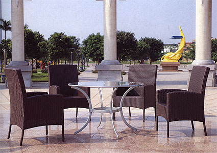 Стол из ротанга GARDA-1009 стол со стеклом КупиСтол.Ru 6450.000