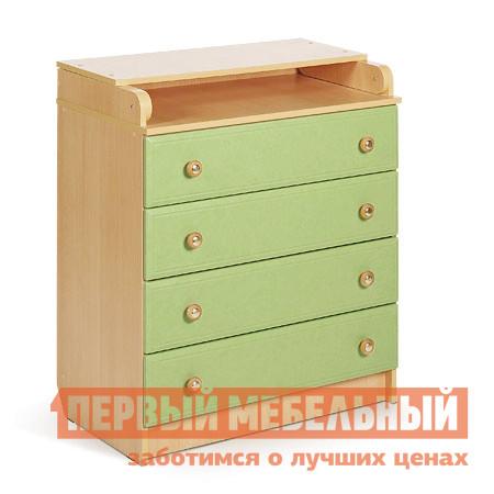 Пеленальный комод Мебеком ДМ-101 (кант) пеленальный комод мебеком дм 112 арка