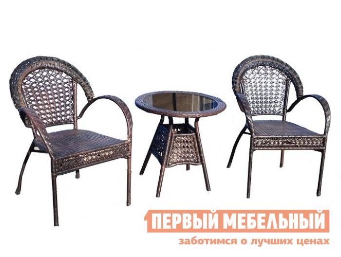 Комплект плетеной мебели Дачная Мебель Лион серикова г дачная мебель своими руками