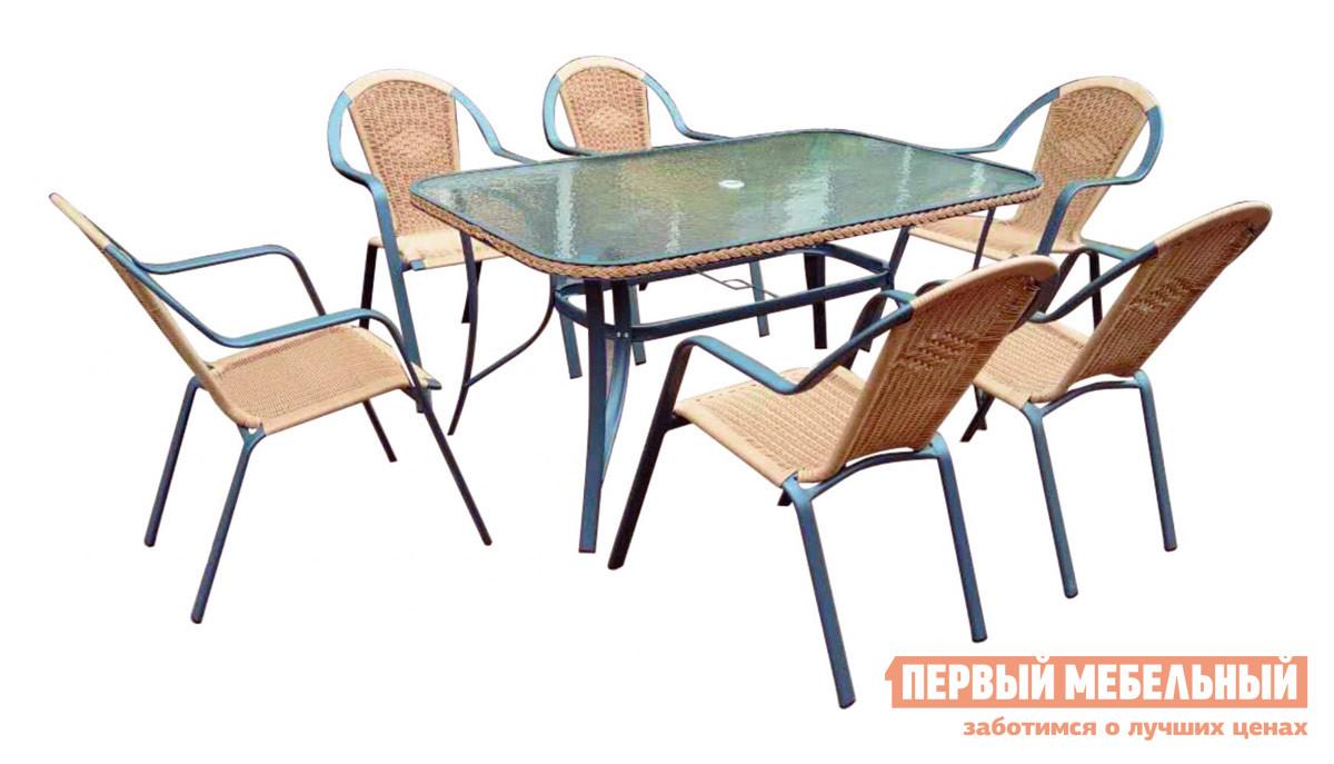 Комплект плетеной мебели  Неаполь 2 (набор) Ротанг GK