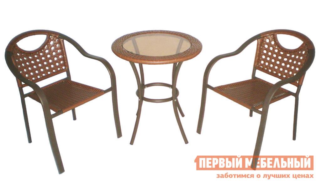 Комплект плетеной мебели Дачная Мебель Мате скребок калибр 21103