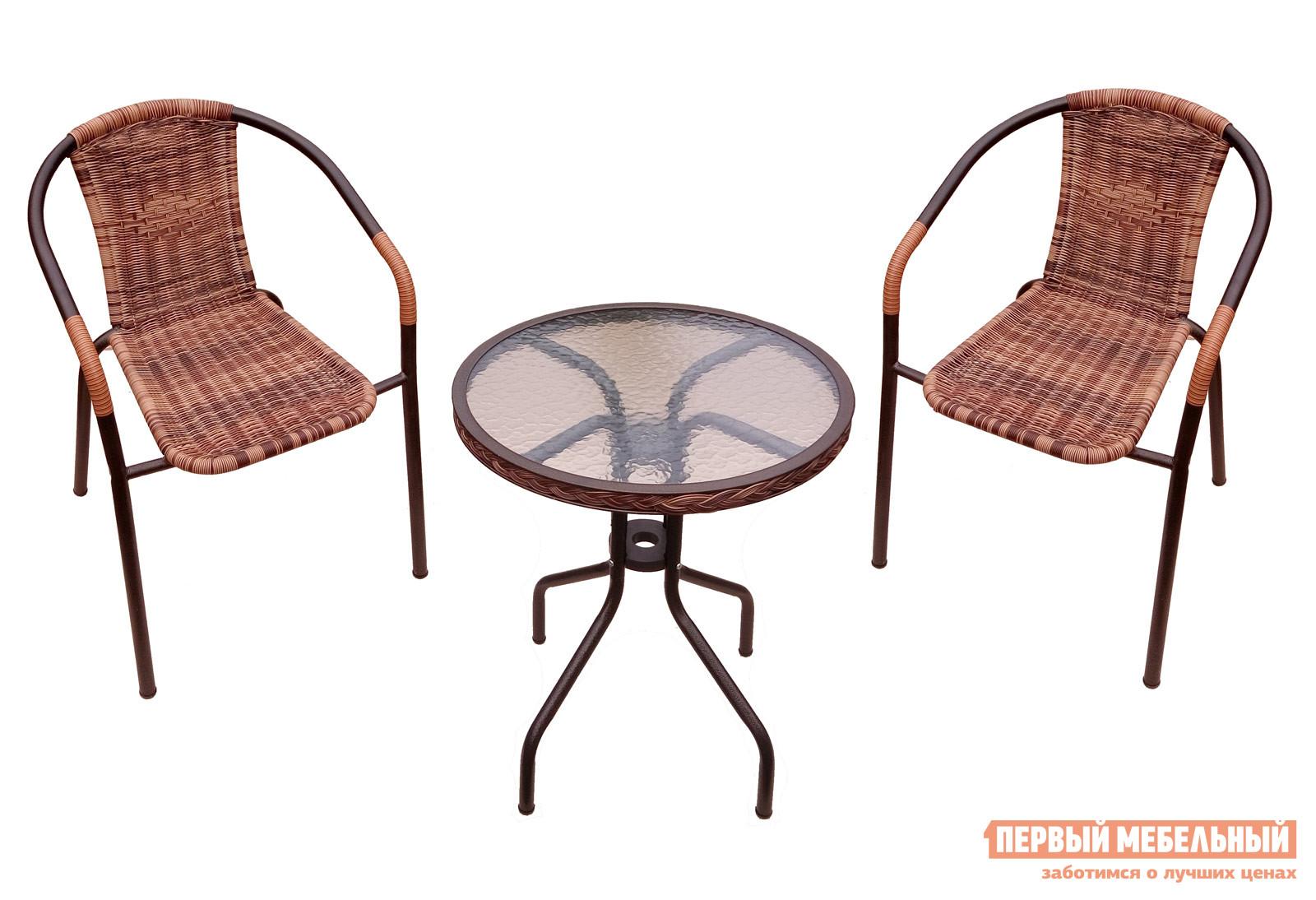 Комплект мебели из ротанга Дачная Мебель Набор дачной мебели