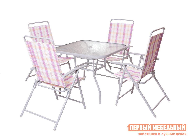 Комплект садовой мебели из металла Дачная Мебель Анкона