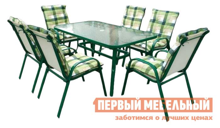 Комплект металлической садовой мебели Дачная Мебель Милан 2 комплект мебели из ротанга афина мебель t282bnt w53 y90c w51 2pcs