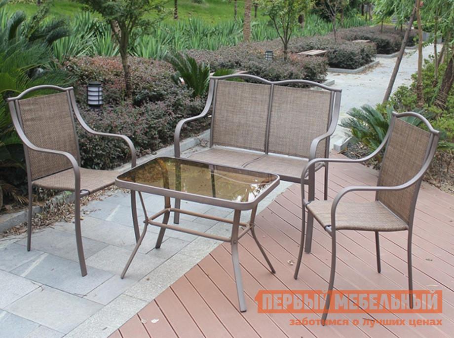Комплект металлической мебели для дачи Дачная Мебель Римини