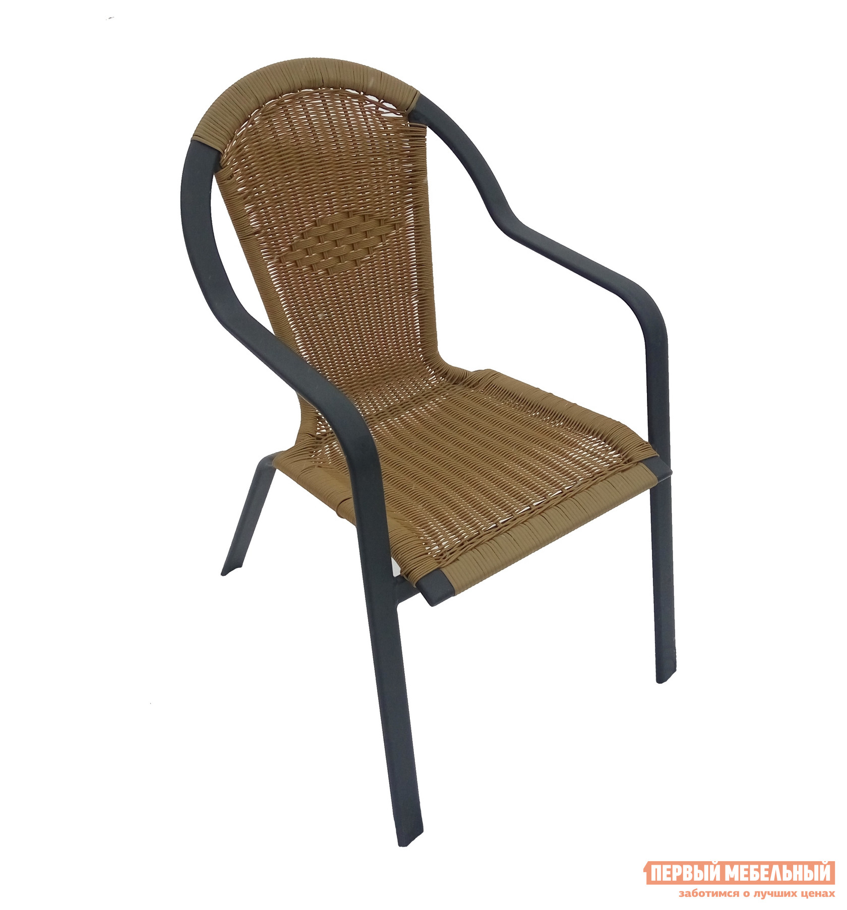 Садовое кресло Дачная Мебель Неаполь Ротанг GKСадовые стулья и кресла<br>Габаритные размеры ВхШхГ 880x580x680 мм. Легкое, удобное и стильное плетеное кресло Неаполь поможет вам создать уголок отдыха на даче или в саду.  У него высокая спинка и комфортные подлокотники. Модель можно свободно использовать на свежем воздухе, не опасаясь воздействий атмосферных явлений.  Ведь сплетены сиденье и спинка из искусственного ротанга — влагостойкого материала за которым легко ухаживать. Обратите внимание, что оттенок ротанга может отличаться от изображения. Каркас модели алюминиевый, размер трубы — 42х14 мм.  Поверхность покрыта полимерным составом, который убережет её от ржавчины.<br><br>Цвет: Коричневое дерево<br>Высота мм: 880<br>Ширина мм: 580<br>Глубина мм: 680<br>Кол-во упаковок: 1<br>Форма поставки: В собранном виде<br>Срок гарантии: 6 месяцев<br>Тип: Плетеная<br>Материал: Искусственный ротанг<br>Материал: Ротанг<br>С подлокотниками: Да<br>С жестким сиденьем: Да