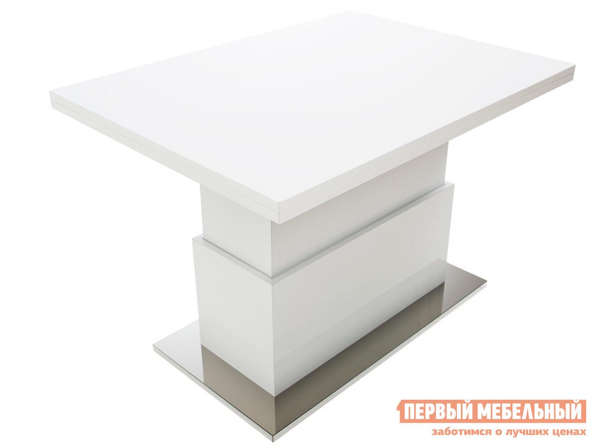 Кухонный стол Slide GL Белый глянец фото