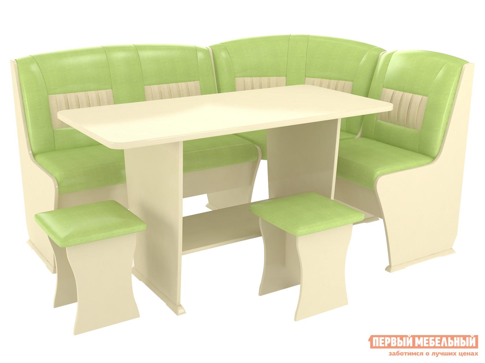 Мягкий кухонный уголок со столом и стульями ТАЛАНТ Консул-3