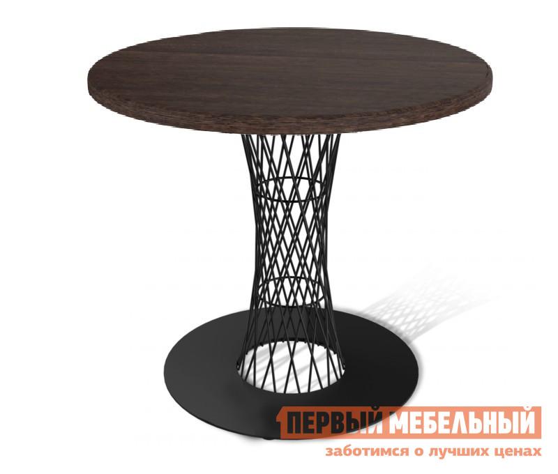Кухонный стол Sheffilton SHT-ТU3 + SHT-TT 80 ЛДСП Венге / Черный