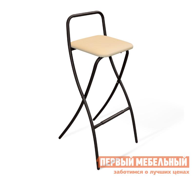 Фото Барный стул Sheffilton SHT-S46 Бежевый / Черный муар