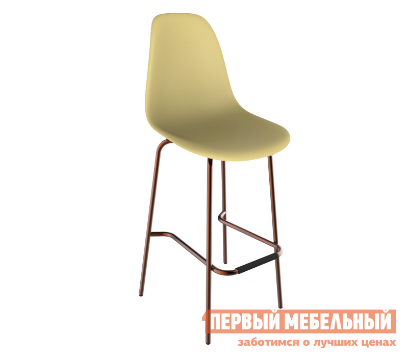 Барный стул Sheffilton SHT-S29 PP Бежевый / Медный от Купистол