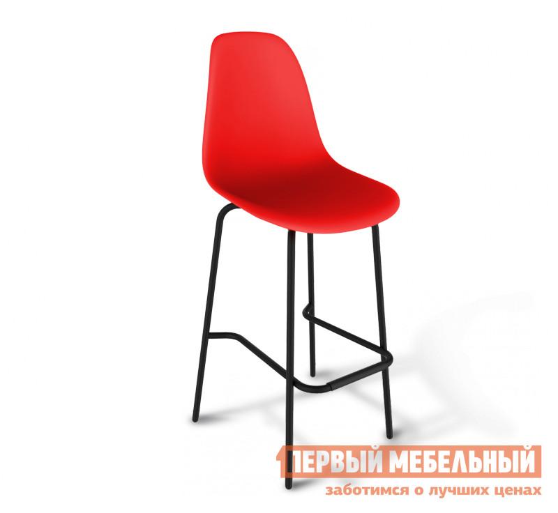 Барный стул Sheffilton SHT-S29 PP Красный / Черный муар