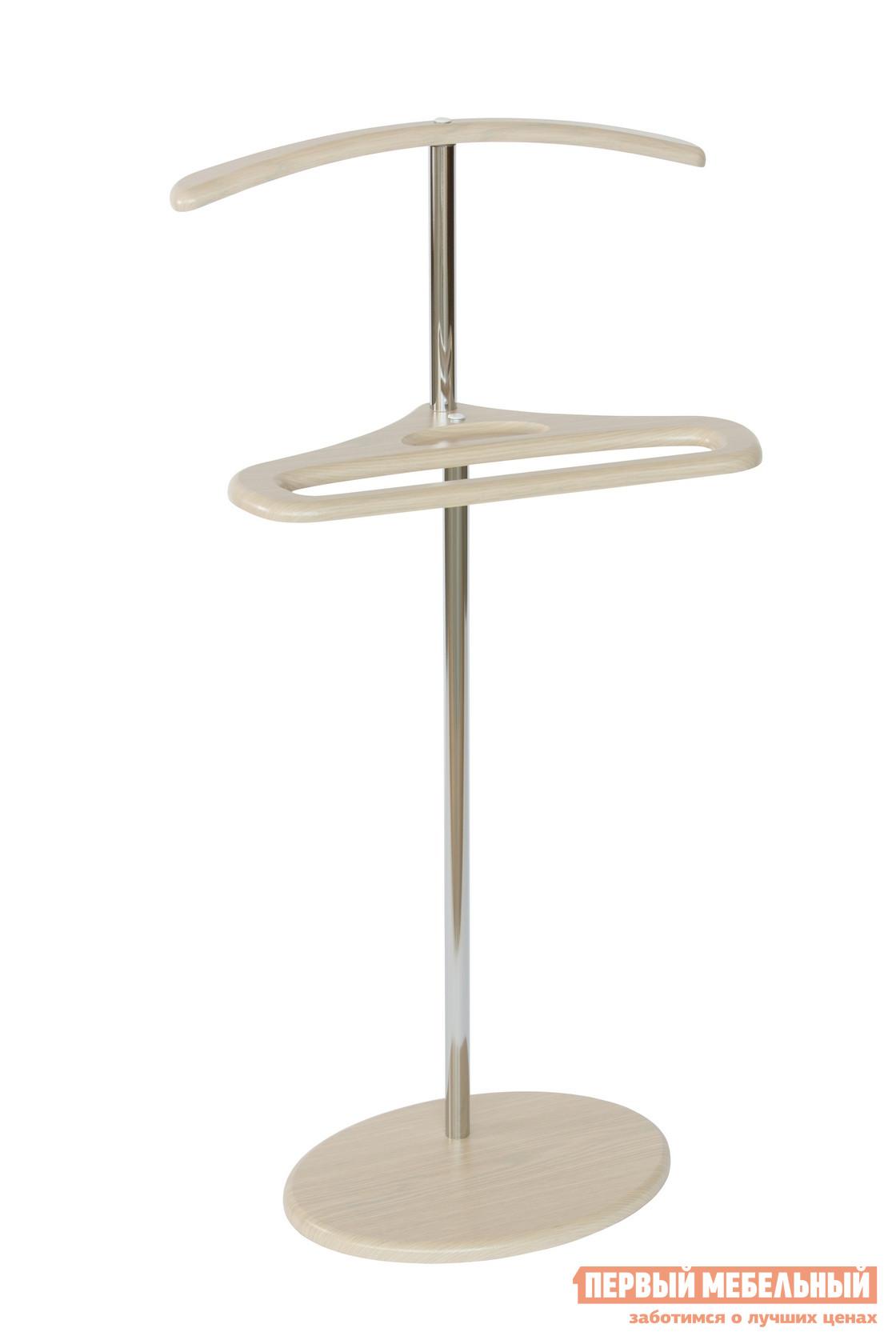 Фото Костюмная вешалка Калифорния мебель Костюмная вешалка Поручик Дуб беленый. Купить с доставкой