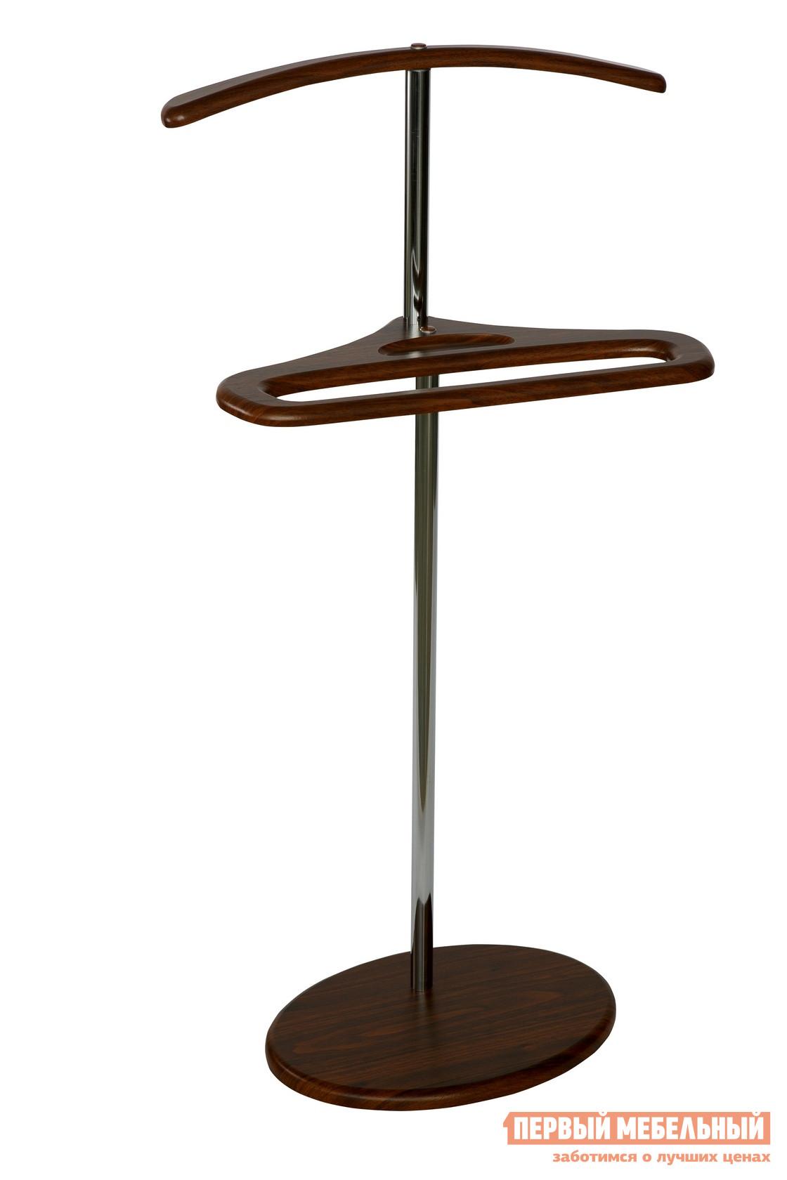 Костюмная вешалка Калифорния мебель Костюмная вешалка Поручик Орех