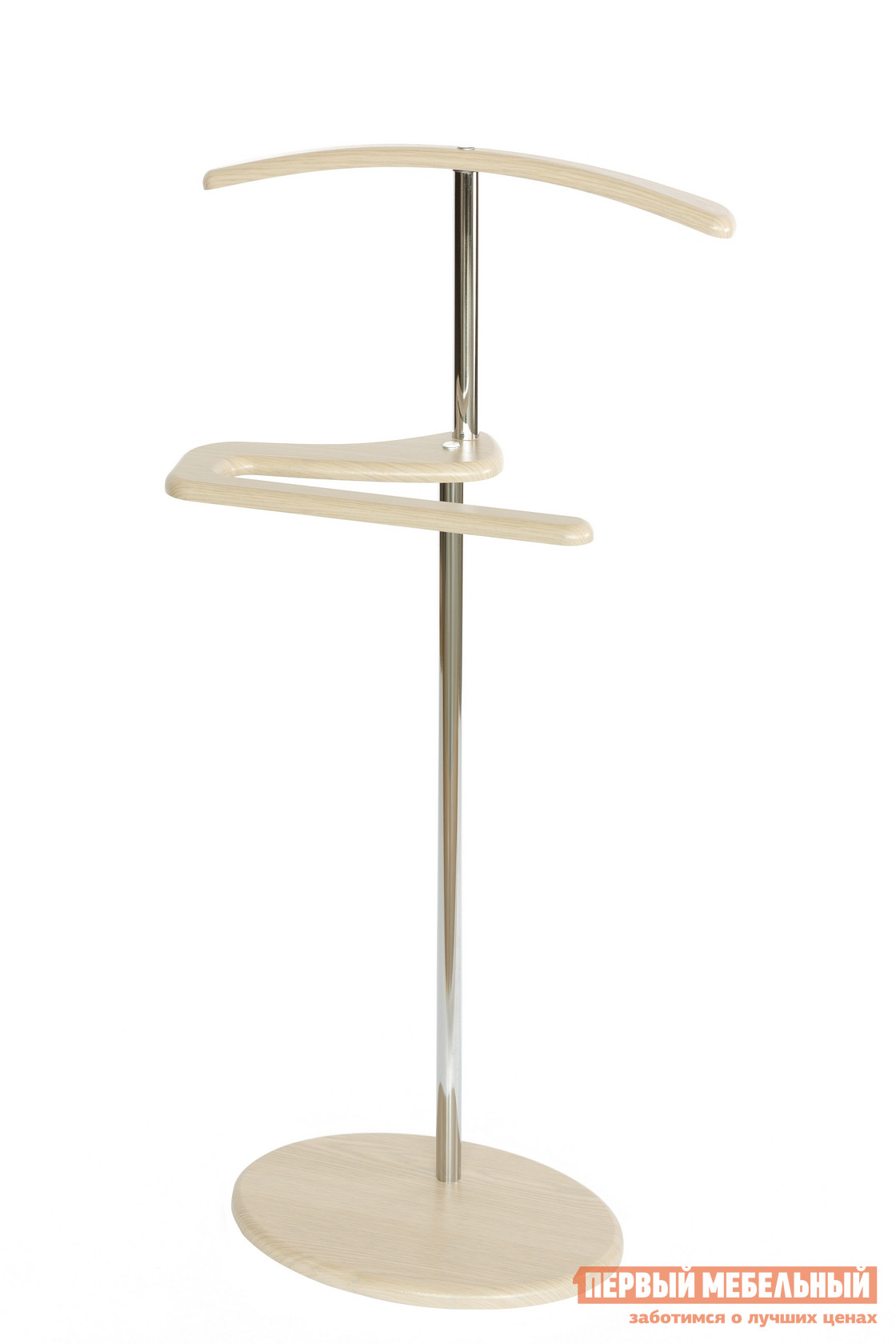 Костюмная вешалка Калифорния мебель Костюмная вешалка Адъютант Дуб беленый