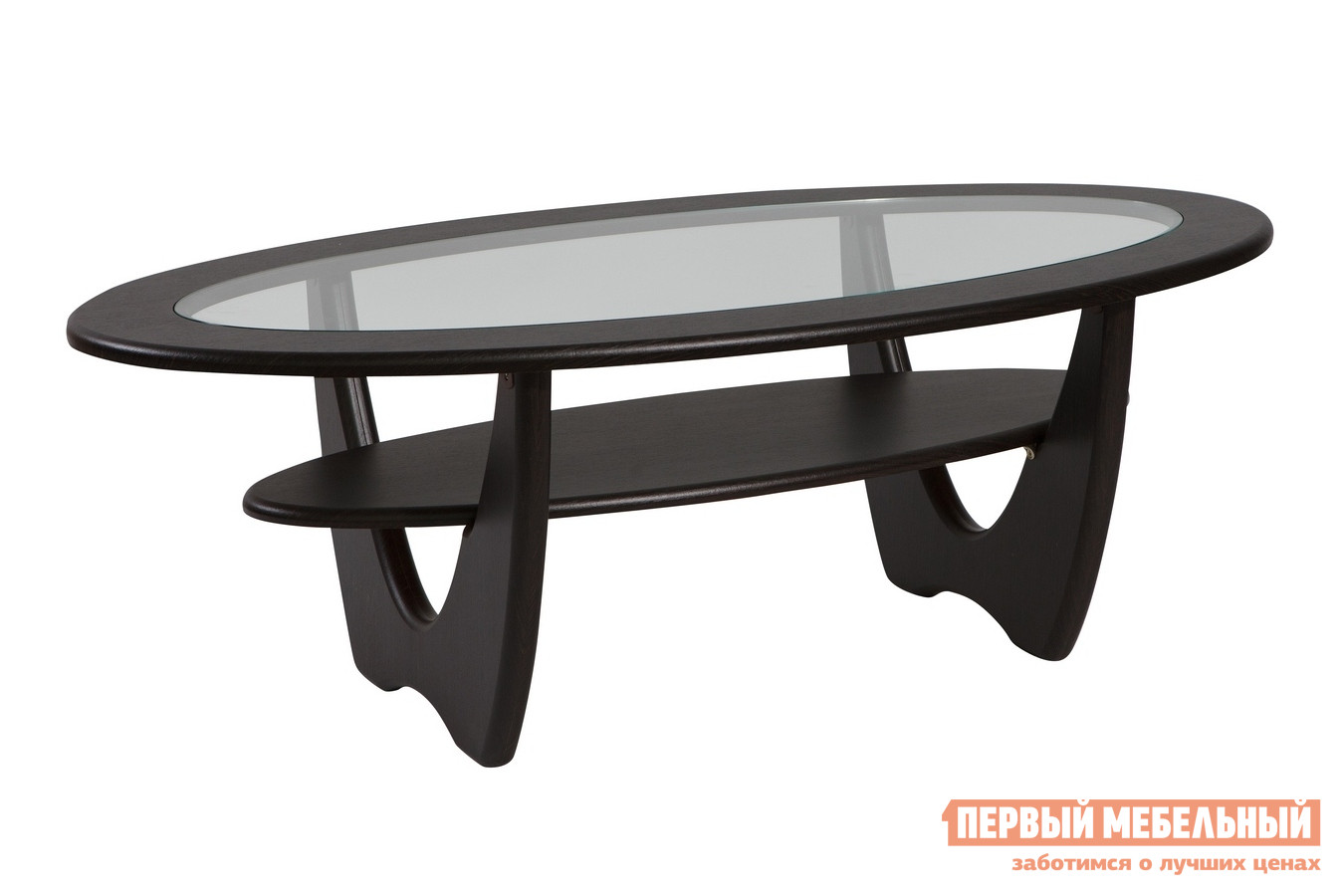 Журнальный столик со стеклом ТАЛАНТ Юпитер со стеклом