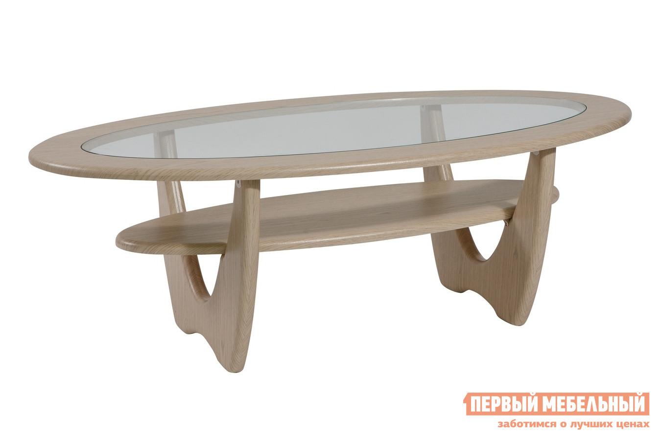 Журнальный столик со стеклом ТАЛАНТ Стол журнальный Юпитер со стеклом