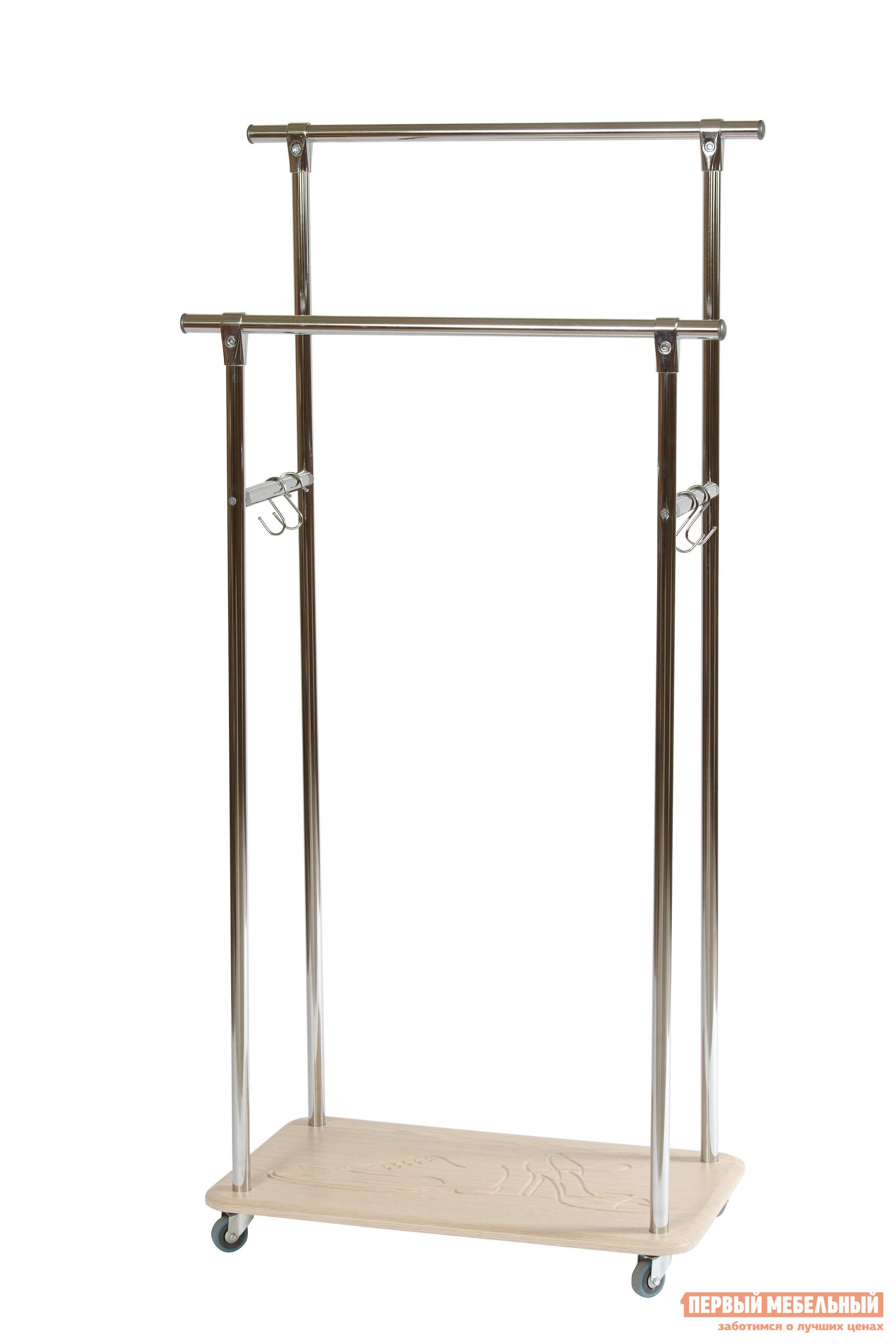 Гардеробная вешалка Калифорния мебель Кейп Дуб беленый