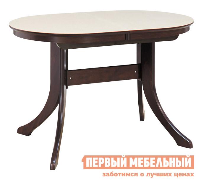 Обеденный стол из искусственного камня Лидер МАРСЕЛЬ 120/80-КМ (овальный с иск.камнем)